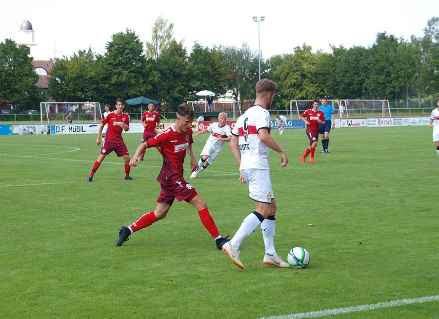 U19 Vorbereitung: VfR Aalen gegen VfB Stuttgart (04.08.18) | Aktuelles | Turnverein Herlikofen 1886 e.V.