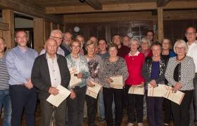 Ehrungsabend 01.12.2018 im Schweizer Hof (27.01.19) | Aktuelles | Turnverein Herlikofen 1886 e.V.